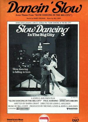 Slow Dancing in the Big City (1978)