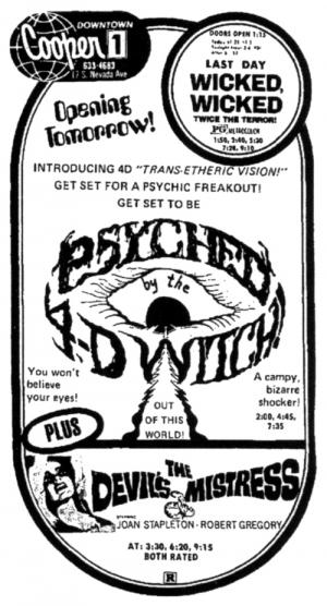 Psyched by the 4D Witch (A Tale of Demonology) (1973)