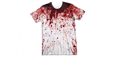 blood on shirt movies