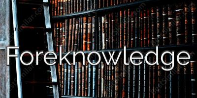 foreknowledge movies
