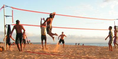 beach volleyball movies