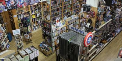 comic book shop movies