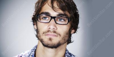 man with glasses movies