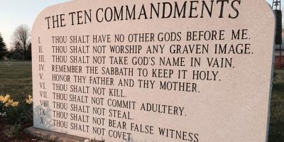 ten commandments movies