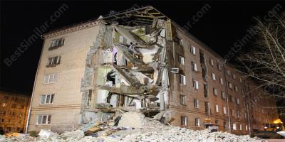 building collapse movies